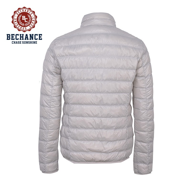 H1052 Mens Light Down Jacket for Male Breathable Coat Winter Wearing