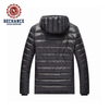 Mens Foldable Ultralight Down Jacket With Fixed Hood Factory In China