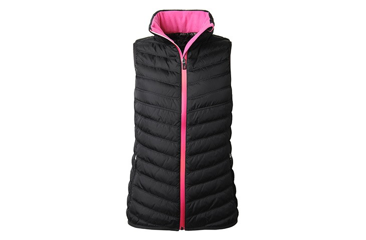 Women Nylon Suit Sports Down/cotton Vest Sleeveless Jacket